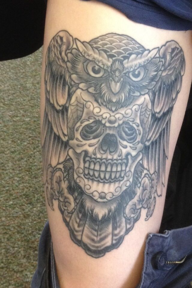 By Joe Ayala at Aces Tattoo; Denton, TX.