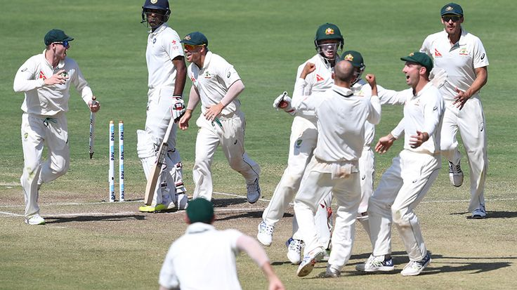 #IndVsAus 1st Test at Pune, Australia Won By 333 Runs Watch #HIGHLIGHTS on #HD at http://cricketonlinehd.com/ #sports #cricket #LIVE