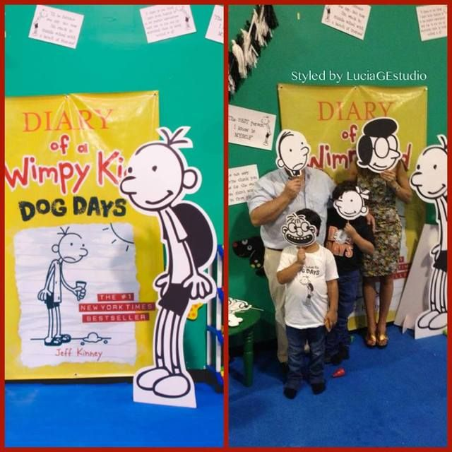 Diary Of Wimpy Kid Party