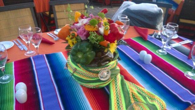 Centro de mesa Mexicano