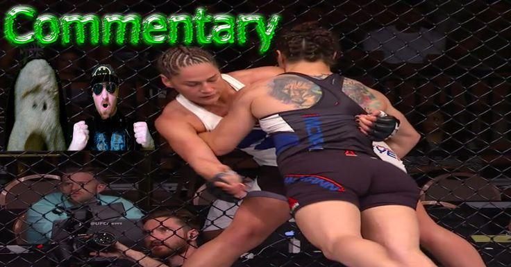 UFC Fight Night 88 Sara McMann vs Jessica Eye Full Fight Commentary UFC ...