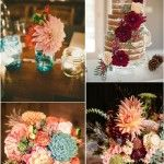 dahlia wedding ideas- wedding flower ideas