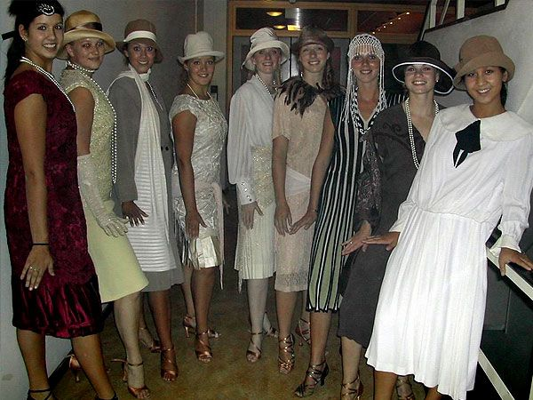 fahion+20 | twenties party fashion 20's 20s themafeest 30