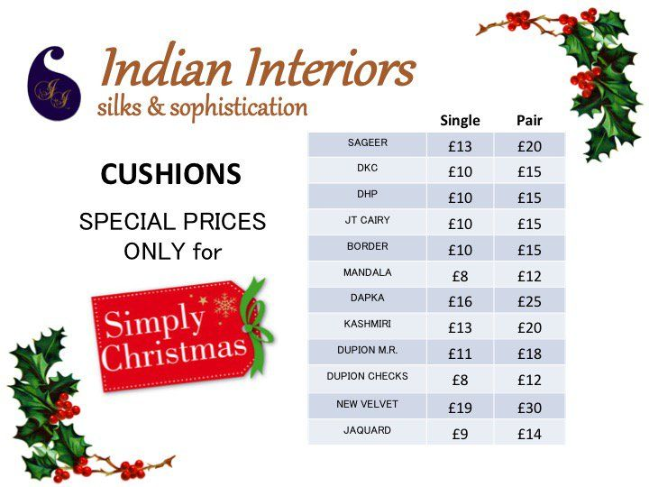 "Indian Interiors on Twitter: ""#SpecialOffers for all you lovely people coming to @ExCeLLondon for @thecraftshows #events #shoppershour #giftideas https://t.co/MWefnOib66"""