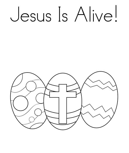 easter coloring pages jesus is