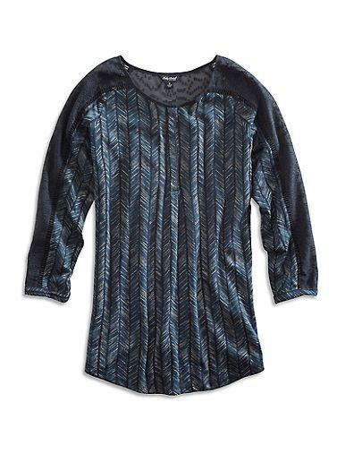 Modern Herringbone Shirt   Lucky Brand