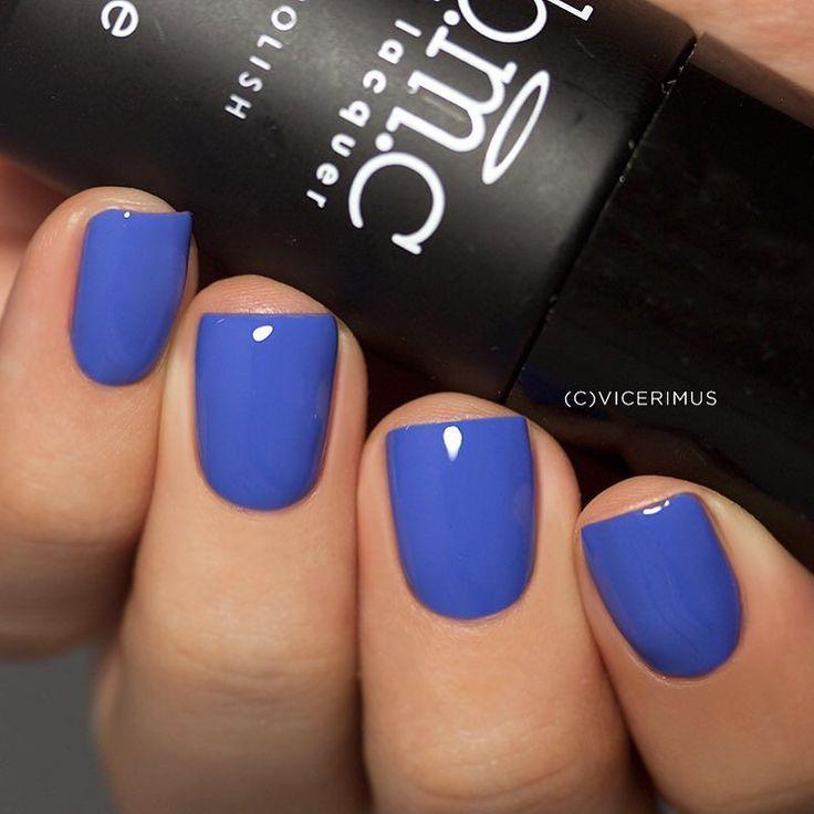 @bundlemonster Indigo Indio x2 cured for 30 seconds each coat under LED lamp.  Slightly whitened cobalt blue gel polish. Available at http://ift.tt/1lPruEZ  Немного разбеленный кобальтово-синий кремовый гель-лак. Приобрести можно на сайте производителя - http://ift.tt/1lPruEZ  PR Sample  Предоставлено на тестирование by vicerimus