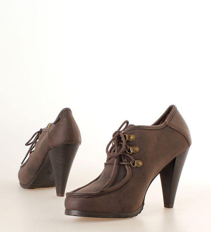 Zapatos abotinados mujer  marca marie mare  talla36.