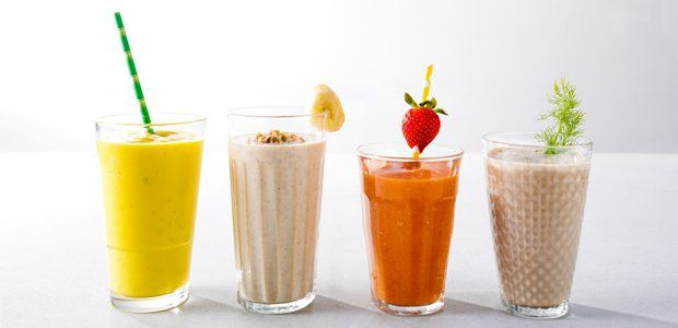 Zelfgemaakte shakes en smoothies zijn niet voor niets zo populair. Ze zitten boordevol groenten en fruit en zijn daarom ontzettend lekker en gezond!