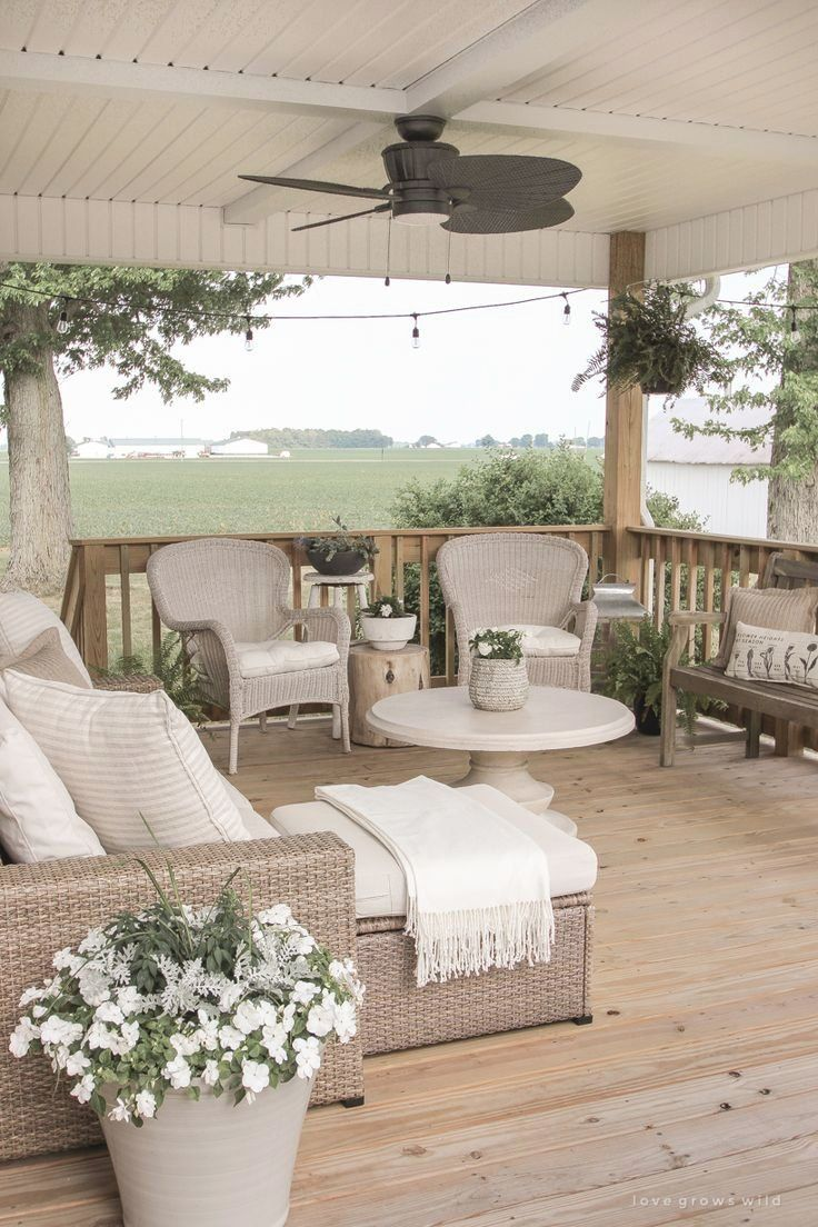 Deck Addition Love Grows Wild Gartendesign Gartenideen Garten In 2020 Beautiful Outdoor Living Spaces Deck Addition Outdoor Living Space