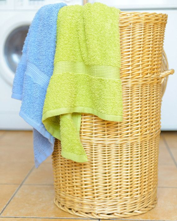 Hampers, especially those with fabric linings, can be a source of unwanted odors—even after smelly laundry has been removed. To solve this problem, place anARM