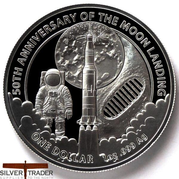 2019 Australian Moon Landing 50th Anniversary 1oz Silver Bullion Coin Silver Bullion Silver Bullion Coins Bullion Coins