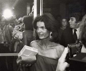 Jackie Kennedy Onassis during 6th Annual RFK Tennis Tournament Party at Rainbow Room in New York City, New York, United States.