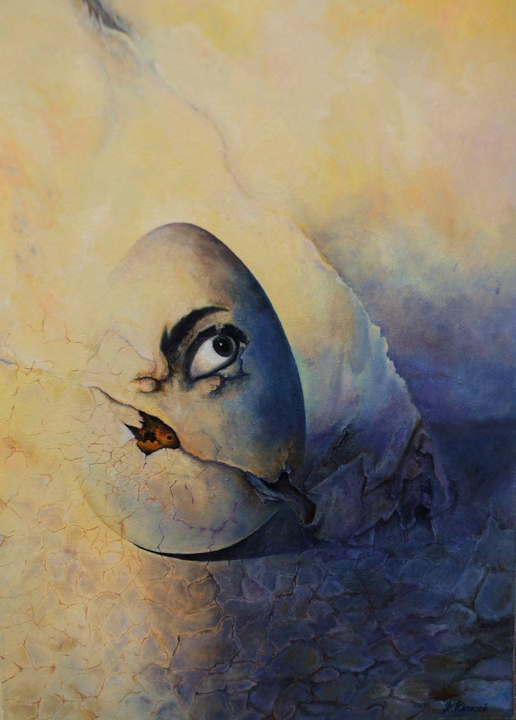 oil on canvas 2016' 50 x 70 Klaudia Karasek Artystyczny