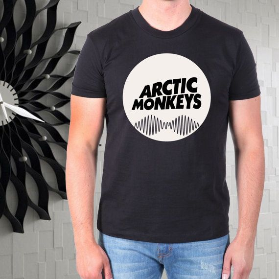 arctic monkeys cool logo men tshirt --- from gajeshop on Etsy