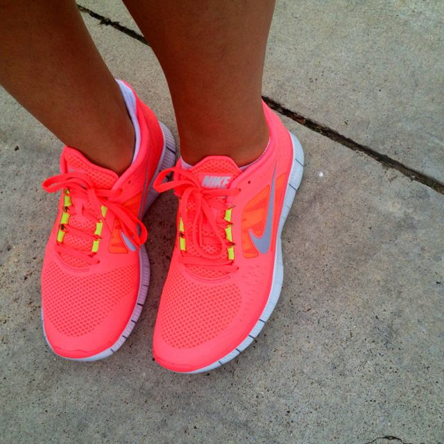 obsessed w/ gym shoes even though i don't work out.