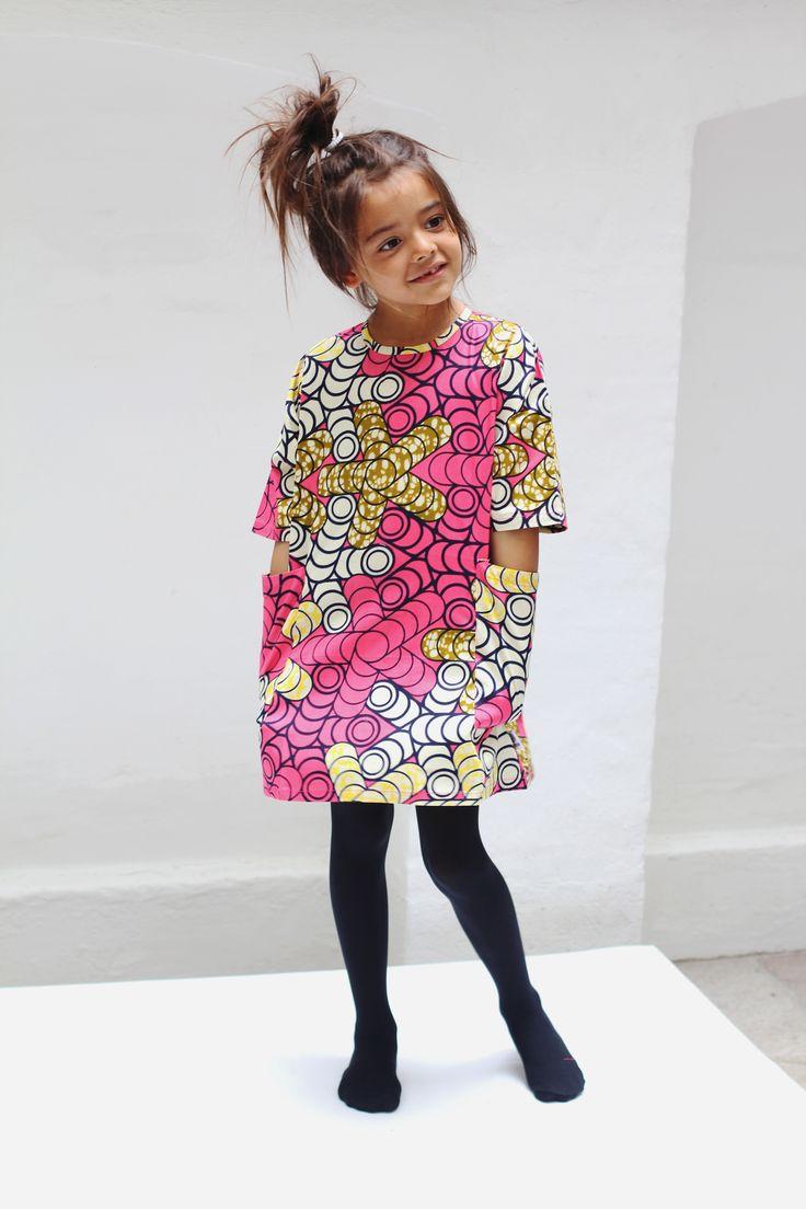 Danish design. Produced in Africa. www.kwadusa.com Follow us at: www.facebook.com/kwadusa.dk #kwadusa #kidswear # waxprint #madeinafrica #dress