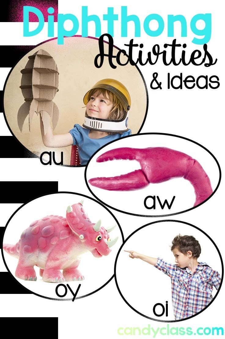 Activities for teaching diphthongs. Lots of fun ideas for building phonemic awareness and teaching this important phonics skill in first grade and second grade classrooms.