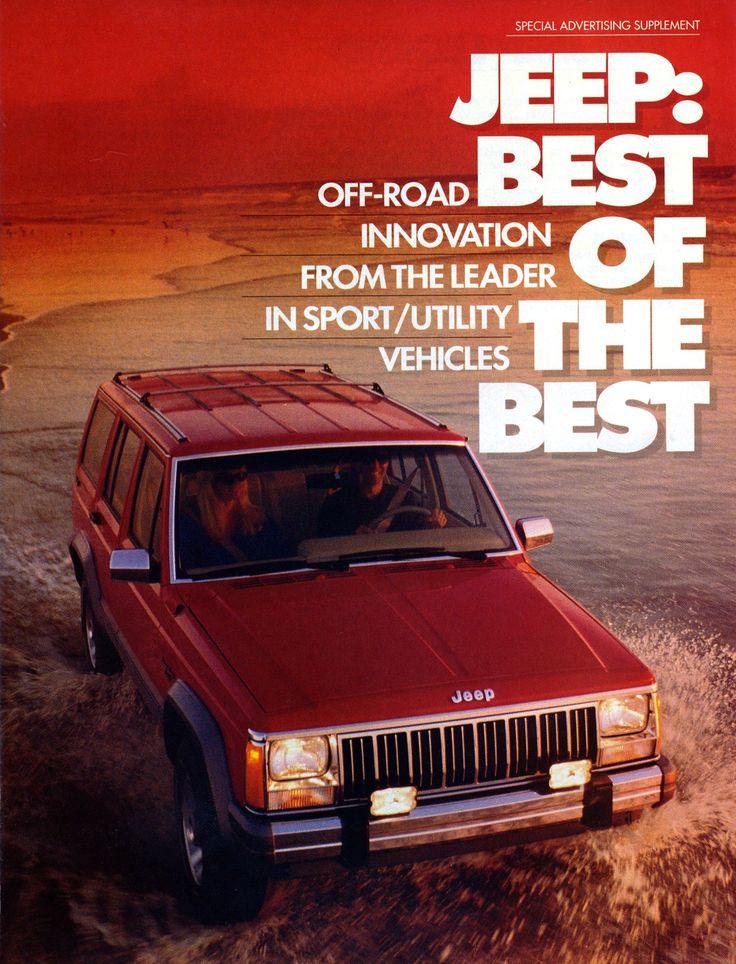 Jeep Cherokee « XJ »: quand la French Touch révolutionna l'Amérique ! | Boitier Rouge