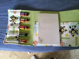 Crayon Wallet DIY