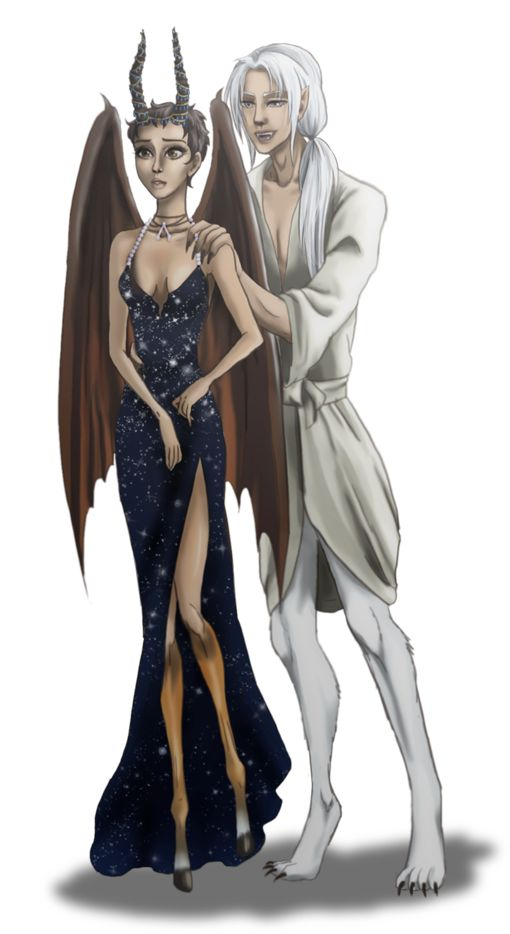 Madrigal And Thiago by Izumii89.deviantart.com on @DeviantArt