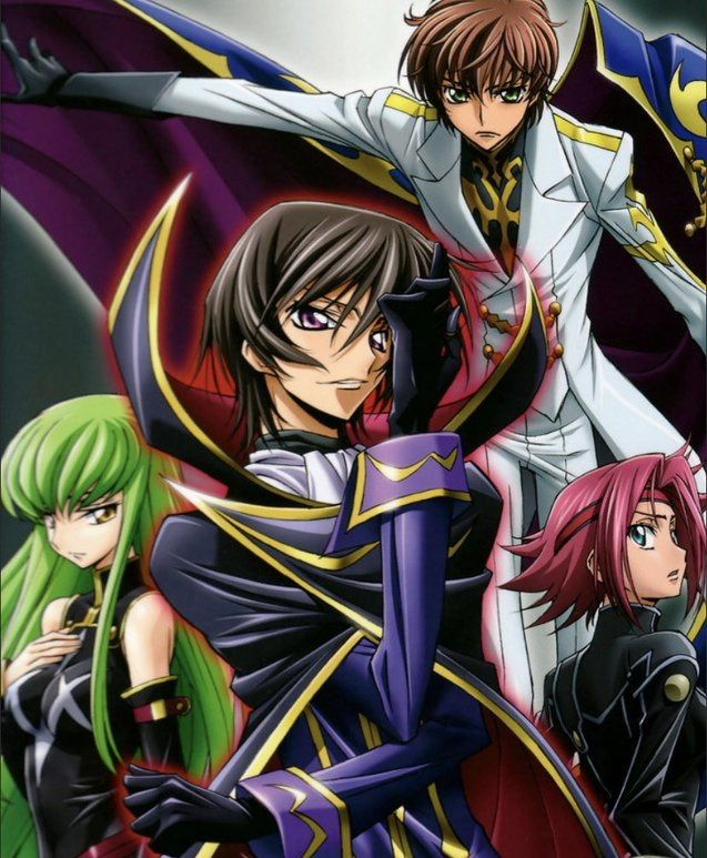 Pin by K♥ on Code Geass in 2020 Best anime shows, Good