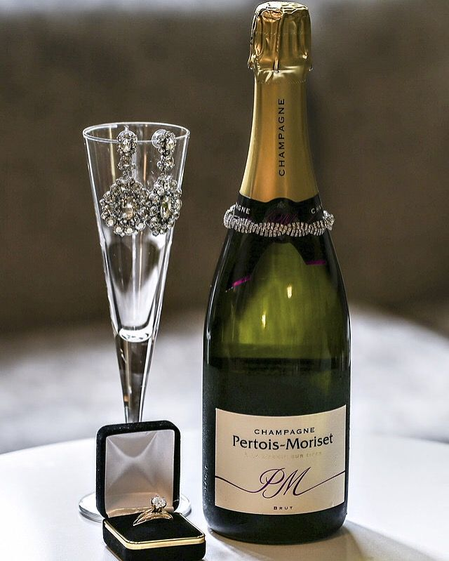 Cute DC wedding photography Champagne and wedding ring Favored by Yodit Events