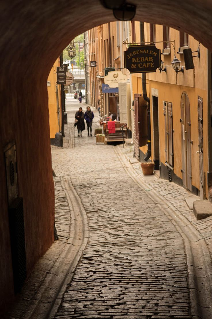 Gamla Stan, one of the sidestreets