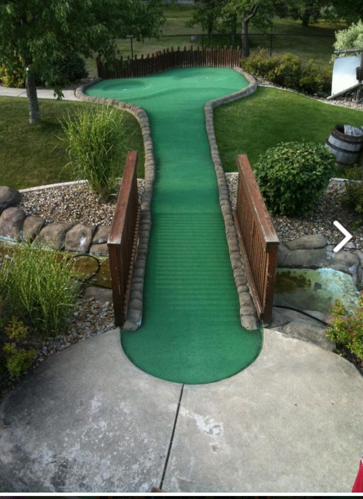how to open a miniature golf course