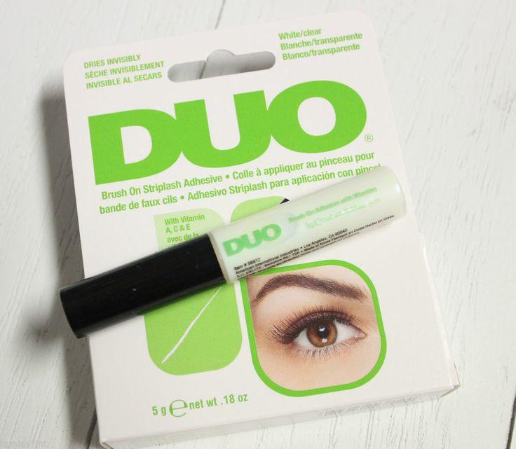 DUO eyelash adhesive falsche künstliche Wimpernkleber mit Pinsel Latexfrei