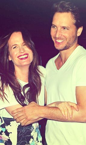 #Twilight - Elizabeth Reaser and Peter Facenillli ay 2012 comic-Con