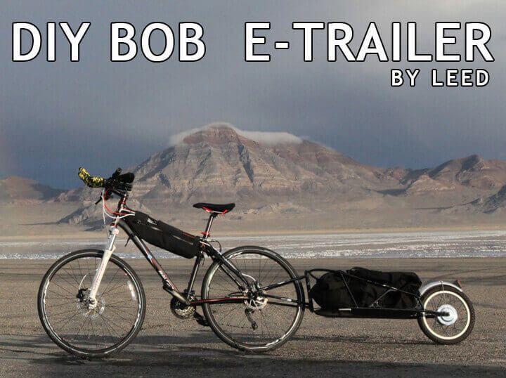 Diy Electric Bike And Electric Bob Bicycle Trailer Electric Bike Diy Bicycle Trailer Biking Diy