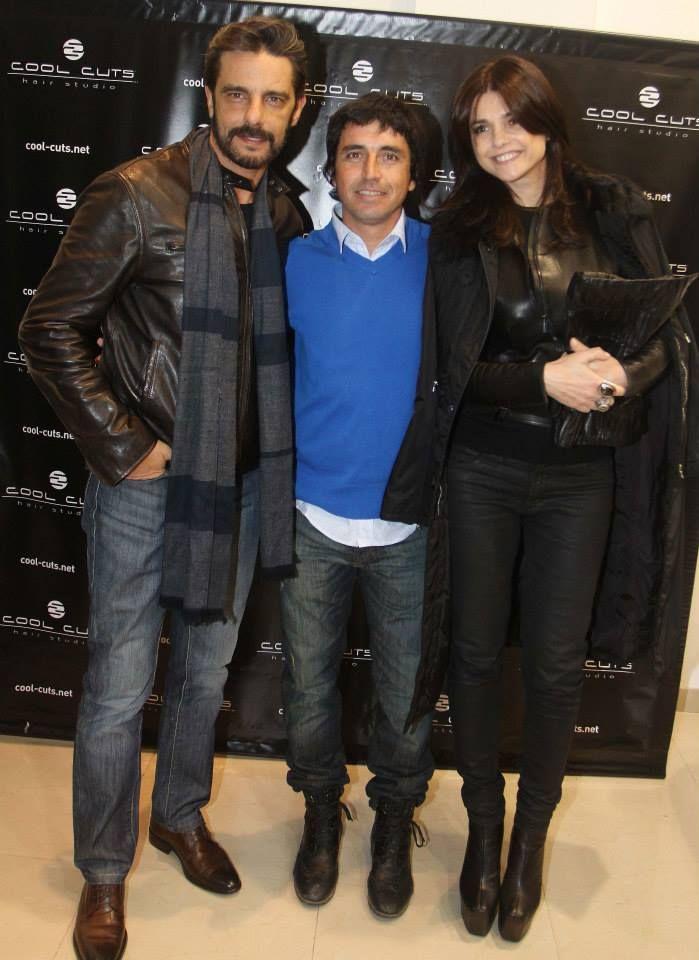 Alvaro con Araceli y Fabian