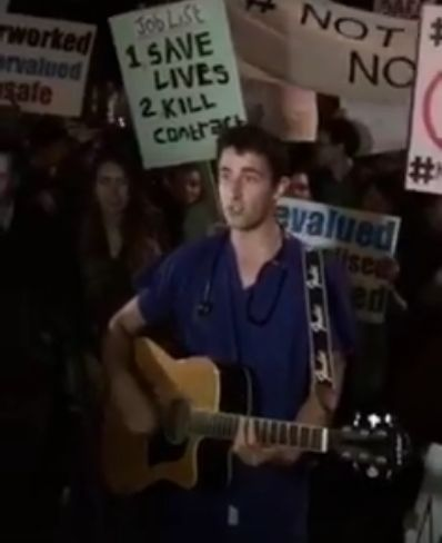 Junior doctor sums up the NHS crisis in a catchy but depressing song