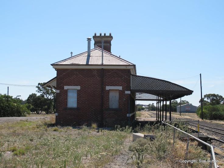 Warracknabeal Railway Station in 2012.