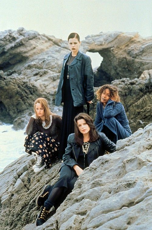Remember THE CRAFT? The movie that blended teen drama and the supernatural. Look at all that denim!