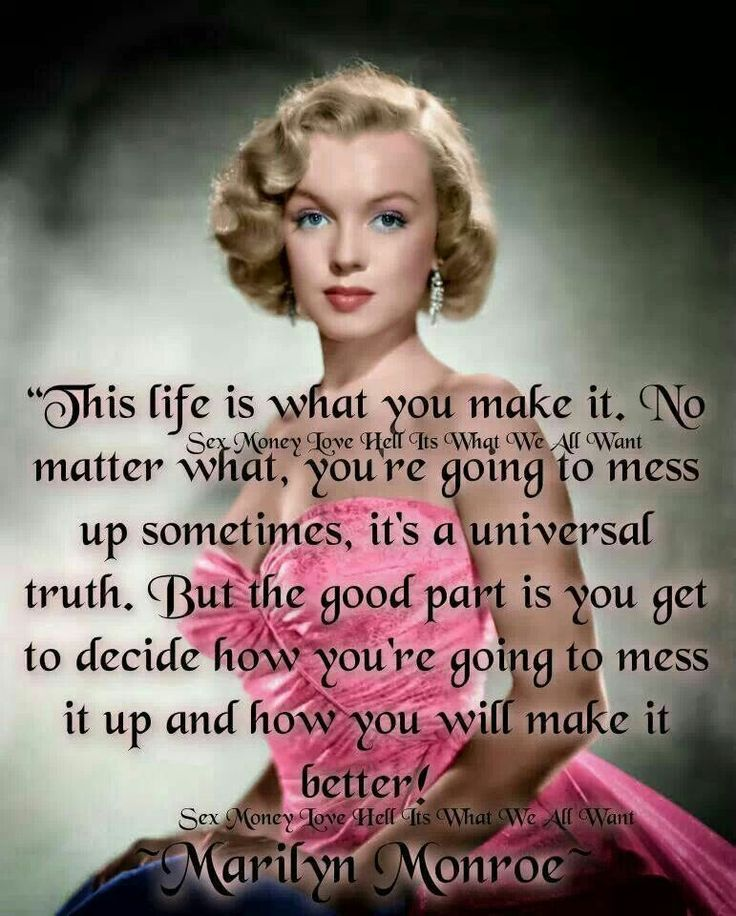 Good Quotes Marilyn Monroe: Marilyn Monroe Quotes