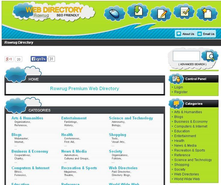 Rowrug Premium Web Directory http://www.rowrug.com/