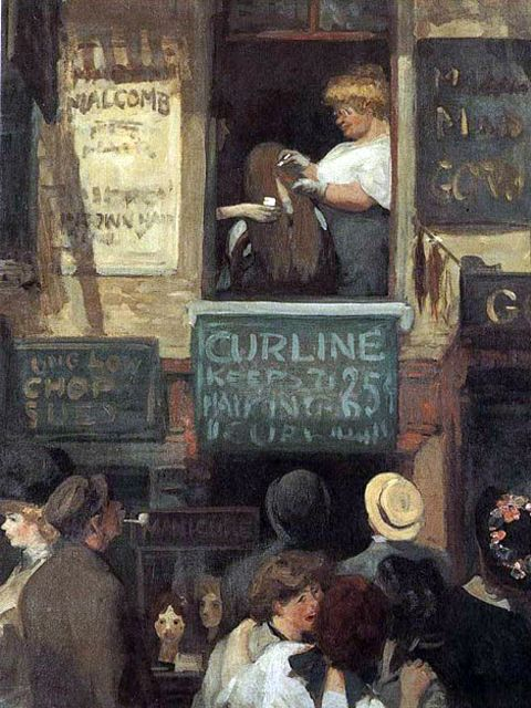 JOHN FRENCH SLOAN – The painter of incidents, on the streets of New York.