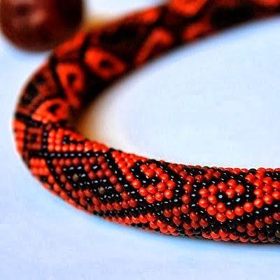 ...Bo plotę trzy po trzy...: wzory na sznury