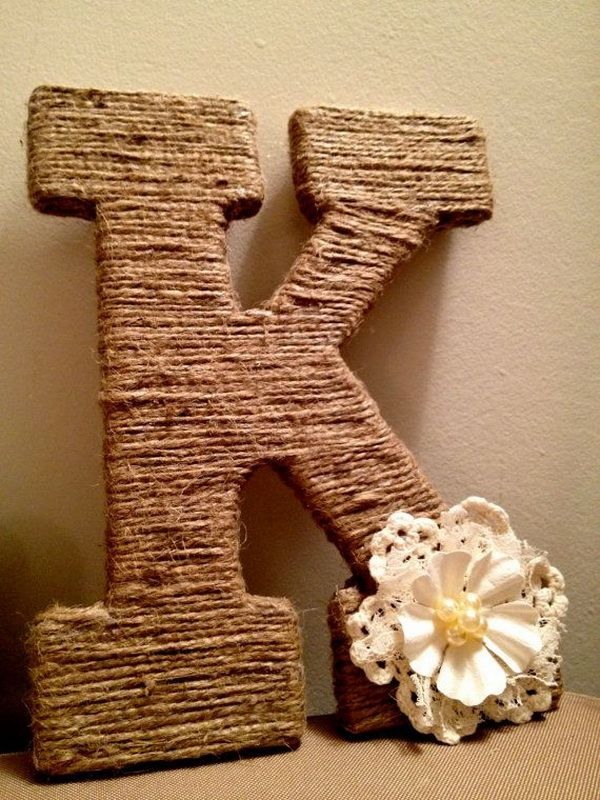 14 best images about door wreaths on pinterest yarns for Small wooden letters for crafts