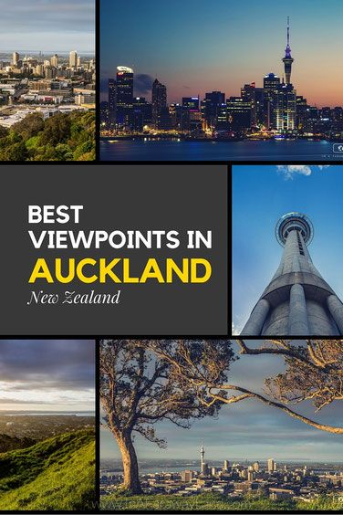 Best Viewpoints in Auckland, New Zealand