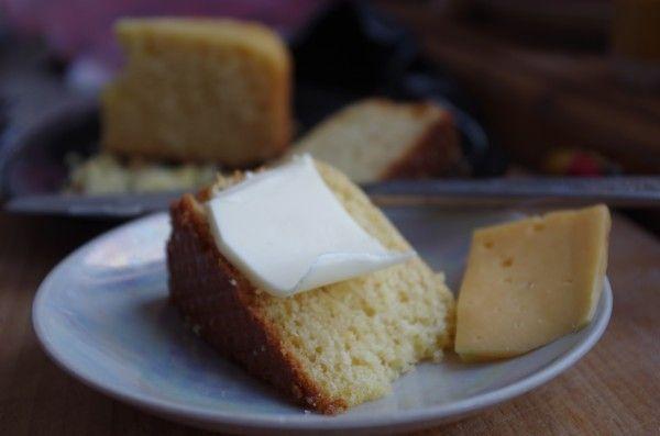 Кукурузный пирог