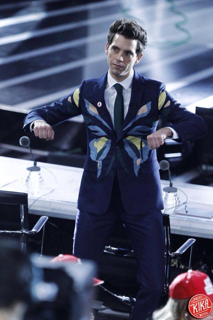 Mika at X Factor Italia 8, November 2014
