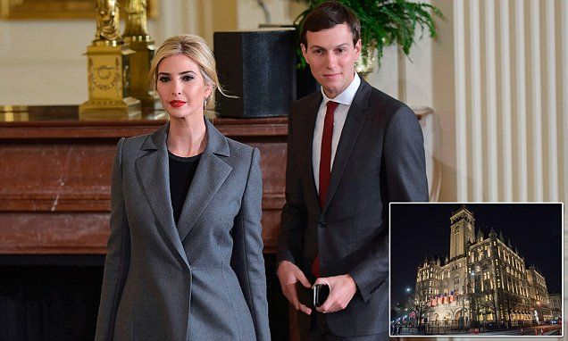 Jared and Ivanka host party at Trump Hotel after book | Daily Mail Online