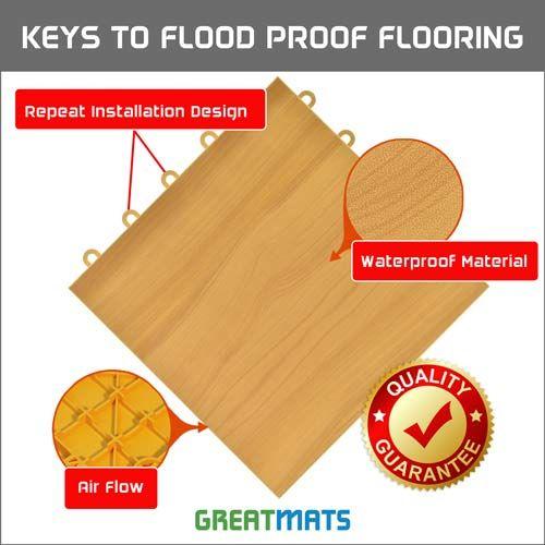 Best Waterproof Flooring For Basements, What Is The Best Flooring For A Basement That Floods