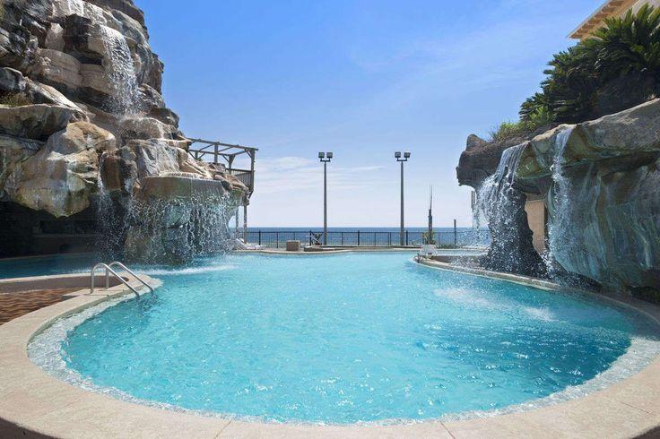 Pool at the Days Inn Panama City Beach/Ocean Front in Panama City Beach, Florida