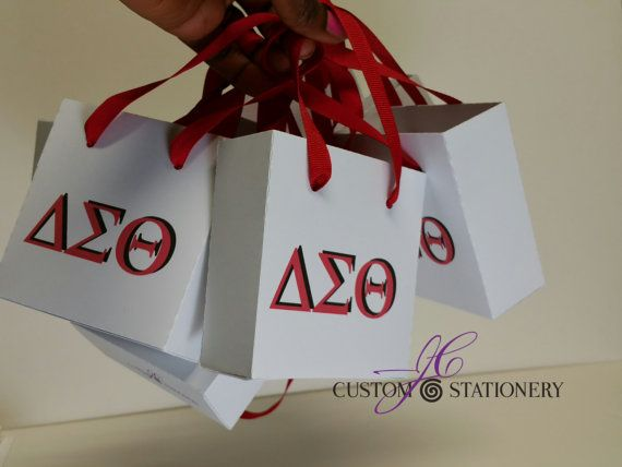 The Sorority Mini gift bags collection Zeta by Jacfredcreation