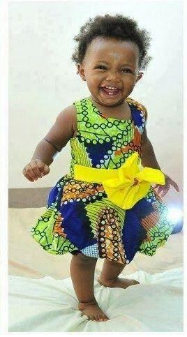 Ankara Gown For Kids - DeZango Fashion Zone