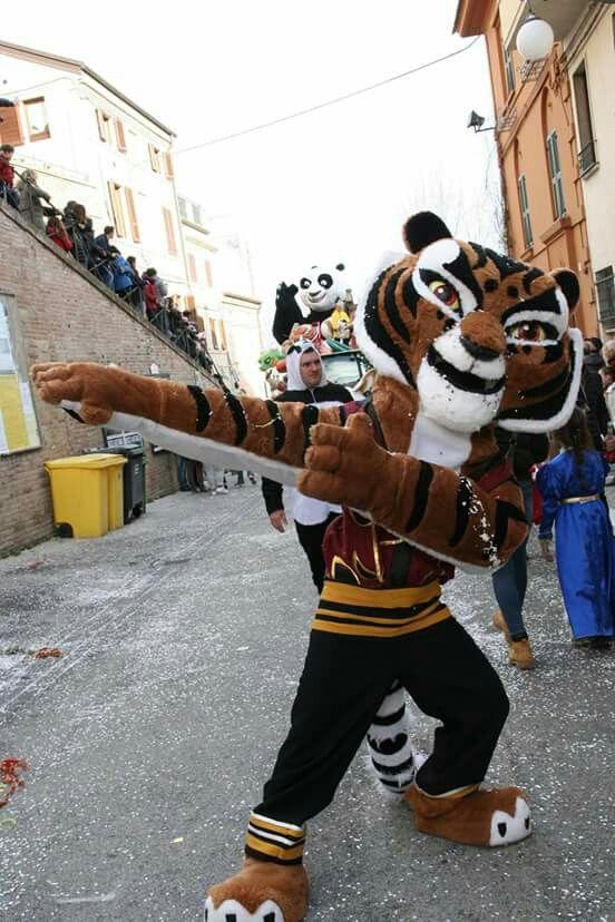 Maestra Tigre....Kung fu panda